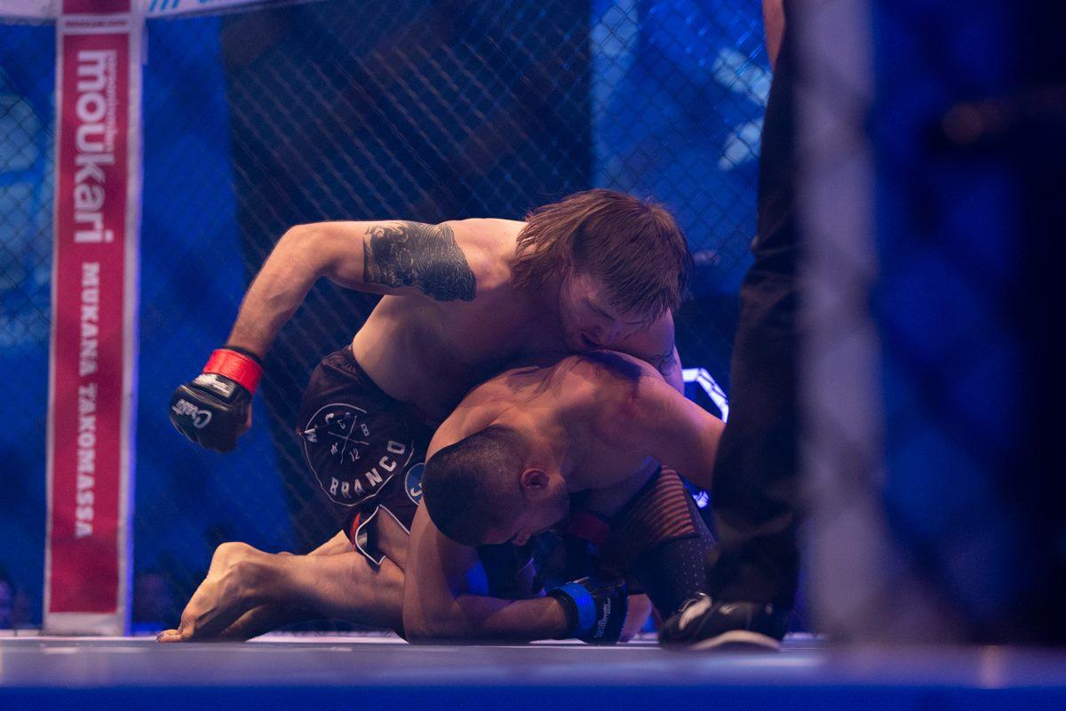 Cage 49 -illan toisessa pääottelussa nähdään nouseva tähti, Jesse Urholin.